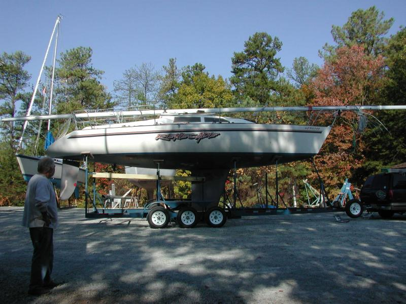 Trailers built by sailors for sailors